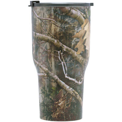 RTIC Coolers 30 oz Stainless Steel Double Vacuum Insulated Tumbler - Kanati Camo