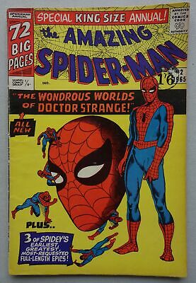 Amazing Spiderman King-Size Annual comic #2 (1965) Marvel VG/FN (phil-comics)