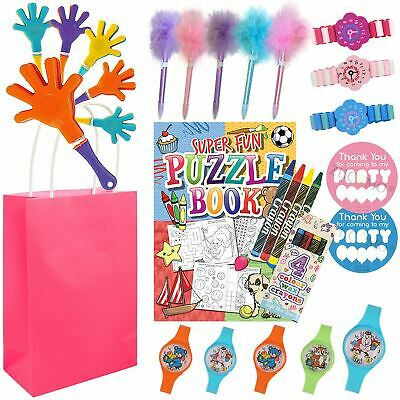 Girls Birthday Pre Filled Kids Party Bags Goodie Loot Favours Toys For Children