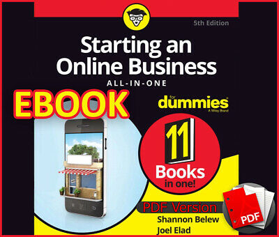 Starting an Online Business All-in-One For Dummies 2017 (ebook_pdf)