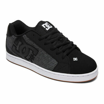 DC Skateboard Shoes Net SE Heather Black - BRAND NEW!
