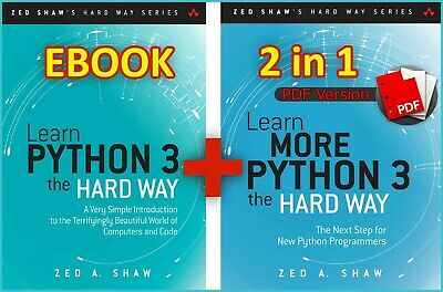 Learn More Python 3 the Hard Way 2in1 Zed A.Shaw 2017 (ebook_pdf)