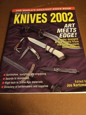 KNIVES 2002 22nd Annual Krause Publications BOOK