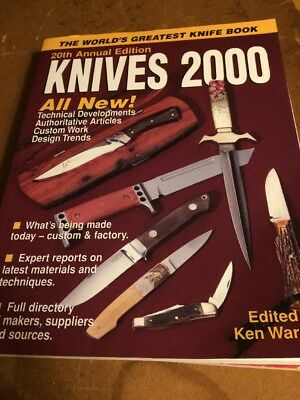 KNIVES 2000 - 20Th  Annual -krause Publications  Knife Collectors BOOK 2000