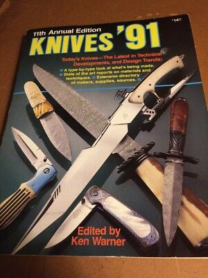 KNIVES  ' 91 -11 Th  Annual DNI Publications  Knife Collectors BOOK 1991