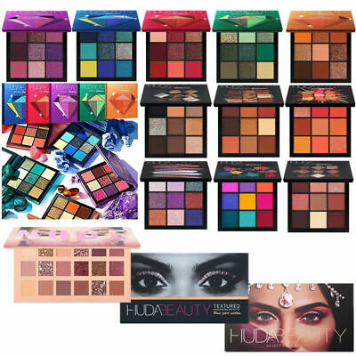 Huda Beauty Eyeshadow Eyeshadow Pallete Makeup Glitter Matte UK Stock