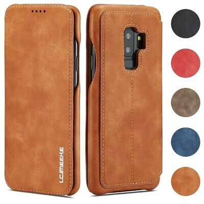 Luxe Cuir Wallet Case Coque Pour Samsung Galaxy S10 Plus /S10E/S10/S9 S8 Note 9