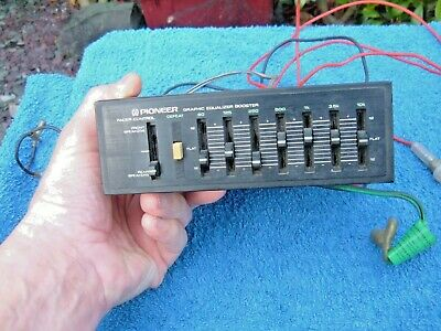 VINTAGE PIONEER BP-520 7 BAND GRAPHIC EQUALIZER 1970's