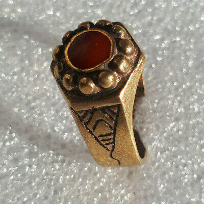 EXTREMELY Ancient antique BRONZE RING museum quality ARTIFACT