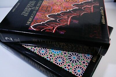 Traditional Islamic Craft in Moroccan Architecture-Compete Set-Volumes 1&2