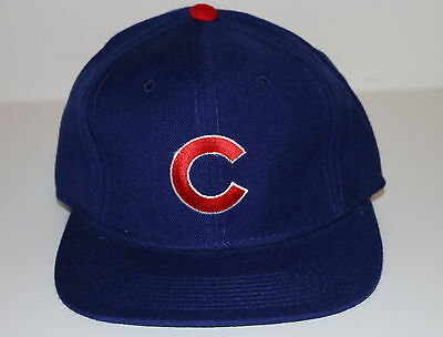 ac6ac7703ed8a Vintage 90s MLB Chicago CUBS SPORTS SPECIALTIES Fitted HAT BLUE NWT NEW  OldStock