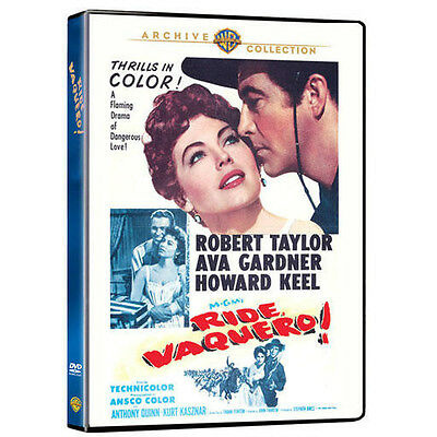 dvd Ava Gardner Howard Keel 1953 NEW!