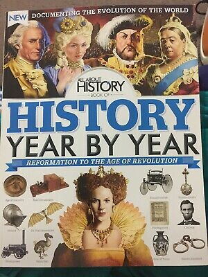 All about History book of History year by year (brand new magazine)