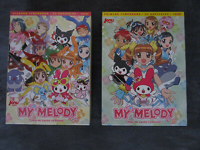 My Melody Dvd Temporada 1 Y 2 Español Jonu Media Descatalogada Manga Anime!