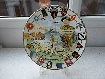 *D-DAY 50th ANNIVERSARY 1944 - 1994* Commemorative Plate