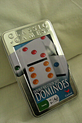 Classic Games double Six Color Dot  DOMiNOES by Cardinal