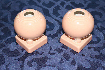Fiesta Retired Apricot Bulb Candle Holders ~ New in Original Box