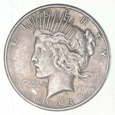 Early - 1923-S - Peace Silver Dollar - 90% US Coin *720