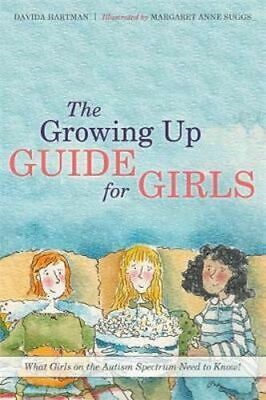 NEW The Growing Up Guide for Girls By Davida Hartman Hardcover Free Shipping