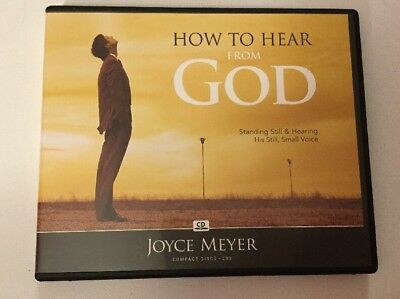 HOE TO HEAR from God by Joyce Meyer CD - $9 95 | PicClick