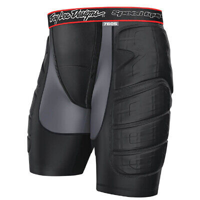 Troy Lee Designs 7605 Protection Shorts - Black