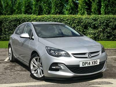 2014 Vauxhall Astra Tech Line Gt 1.7 135 Cdti 5dr Diesel silver Manual