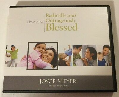 JOYCE MEYER 6 CD Set How to be Radically & Outrageously Blessed C158