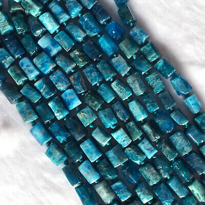 Natural Genuine Blue Green Apatite Nugget Free Form Necklace Bracelet Stone Bead
