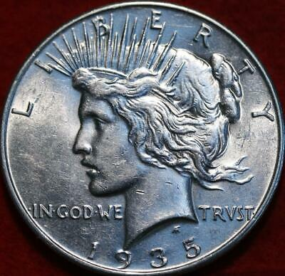 Uncirculated 1935 Philadelphia Mint Silver Peace Dollar