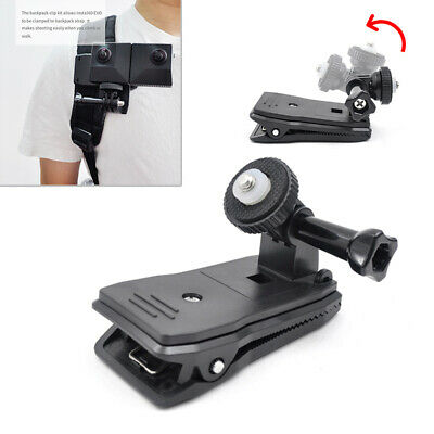 For Insta360 ONE X/EVO Backpack Clip Camera Fast Clamp Mount Stable High Quality