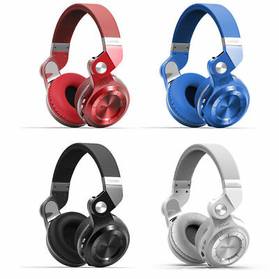 Bluedio Bluetooth 4.1 Stereo Headsets T2 Plus Hi-Fi Wireless Support Micro SD