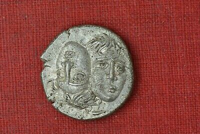Precise Ancient Greek Thrace Istros Late 5th-4th Centuries Bc Ar Drachm S-1669 moesia