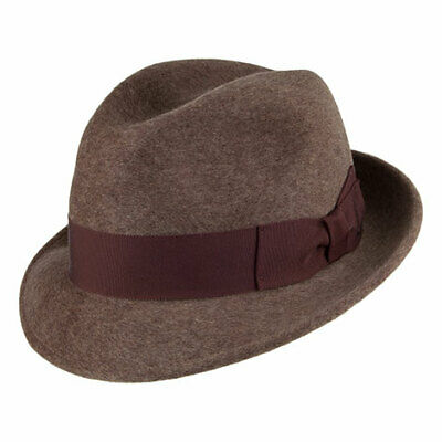 Bailey Hats The Riff Trilby Hat - Mink