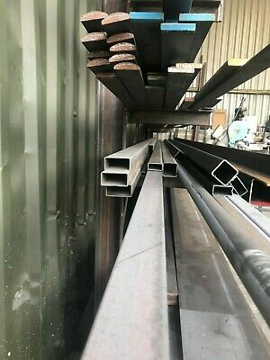 Mild Steel Rectangle Box Section - Various Lengths - Various Diameters