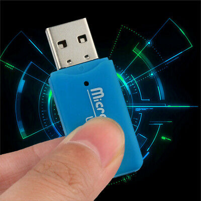 Portable Mini USB 2.0 Card Reader Support TF SD Mobile Memory Card For PC Laptop
