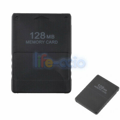 128MB Data Storage Memory Card Stick Compatible for Sony PlayStation 2 PS2 Slim