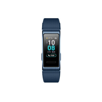 HUAWEI Band 3 Pro 0.95-Inch AMOLED Color Screen 120*240 BT 4.2 Built-In Q1P6