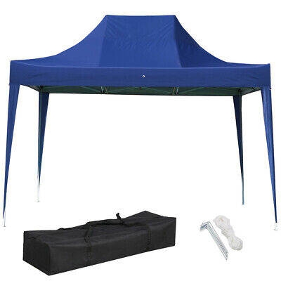 3X4.5M/10x15FT Waterproof Pop Up Gazebo Duty Garden Awning Party Tent Garden New