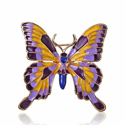 Vintage Enamel Insect Butterfly Brooch Pin Womens Party Costume Jewellery Party