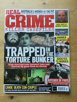 Real Crime Magazine - Killer Case Files - Issue 47 - Mint - Free P&p