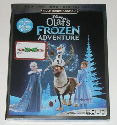 Disney Blu-ray + DVD - Olaf's Frozen Adventure (New)