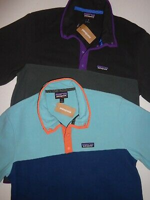 71a102d7450 PATAGONIA MEN S MICRO D Snap-T Fleece Pullover 26165 New Adobe Size ...