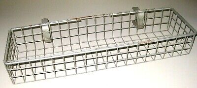 Vintage LARGE WIRE Shelf BOX for Soaps etc. for Bathtub / FARM WASHBASIN Sink