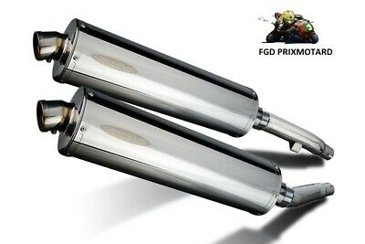 Yamaha Xj 900 Diversion Silencieux Pots Delkevic 450Mm Oval Inox