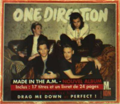 One Direction - Made In The A.m. (Deluxe) NEW CD