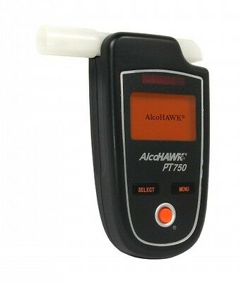 Alcohawk PT750 Breathalizer Breathalyzer Alcohol Tester Pro Kit With Printer