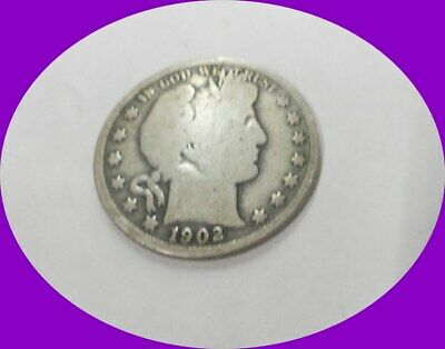 1902 Barber Half Dollar-Scarce Better Date!!