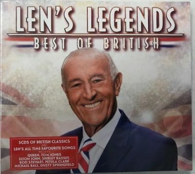 Len Goodman Legend Best Of British New 3 Cd Box Set Sealed Alma Cogan Lulu