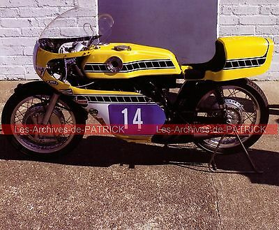 YAMAHA 350 TR3 OW 16 ( OW16 ) 1973 Fiche Moto 000138