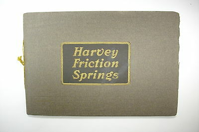 1906 Railroad Trade Catalog: HARVEY FRICTION SPRINGS Detroit Steel Products Co.